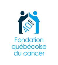 Logo : 40 ans - Fondation québécoise du cancer (Groupe CNW/Fondation québécoise du cancer)