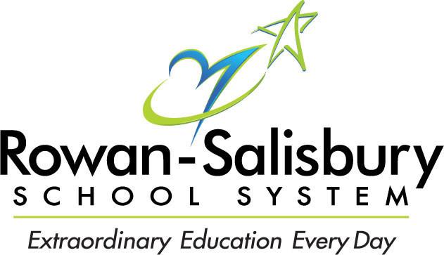 Logo for the Rowan-Salisbury School System in North Carolina.