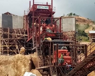 Crushing Plant (CNW Group/TVI Pacific Inc.)