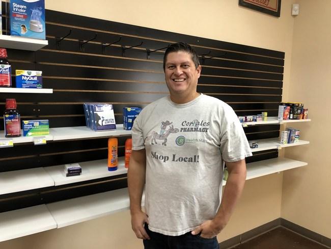Mike Gallegos brings AllerPops to his hometown customers.