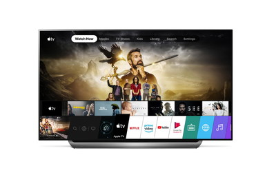 LG is now launching the Apple TV app for compatible 2019 LG smart TVs in the United States and more than 80 other countries.