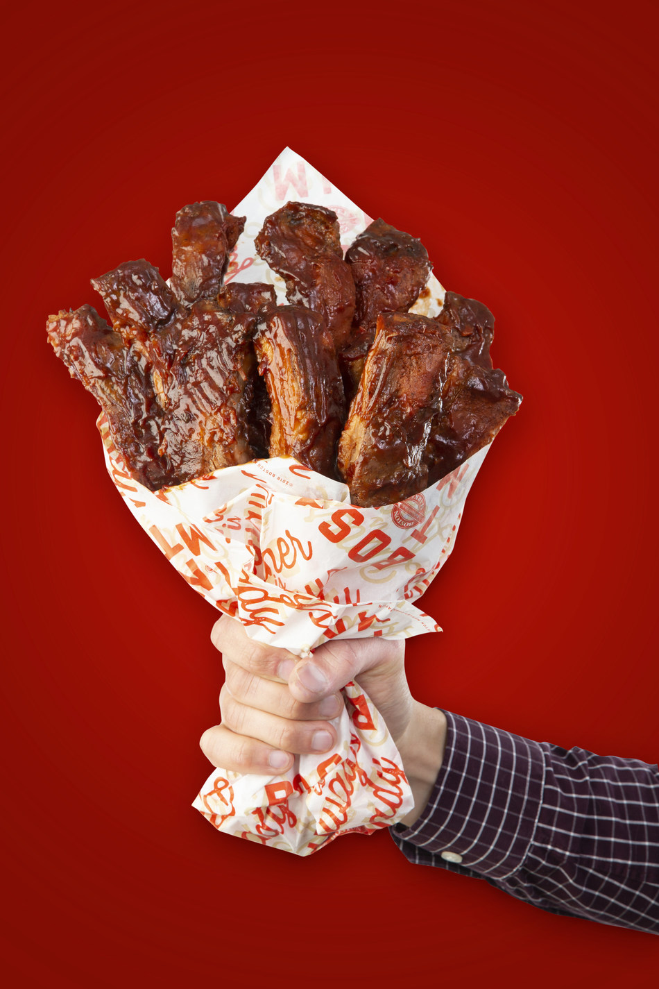 This Valentine's Day, ditch the traditional bouquet of flowers for one made of one dozen tender, mouthwatering Boston Market Baby Back Ribs. The limited edition and sure-to-be-coveted BAE-by Back Ribs Bouquet will be available for purchase on Friday, February 14 in all Boston Market restaurants nationwide while supplies last for $29.99 each. www.BostonMarket.com