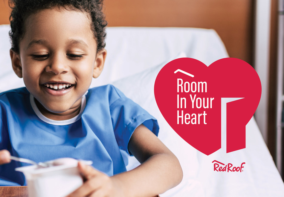 Red Roof®, the leader in upscale economy lodging, as part of its Room in Your Heart campaign, is sharing the love with two organizations in February: Flying Horse Farms and the Neuroendocrine Tumor Research Foundation (NETRF).  When Guests Book a Room, Red Roof Gives Back.