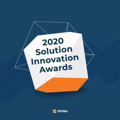 Nintex Opens 2020 Nintex Solution Innovation Awards Program for Nominations