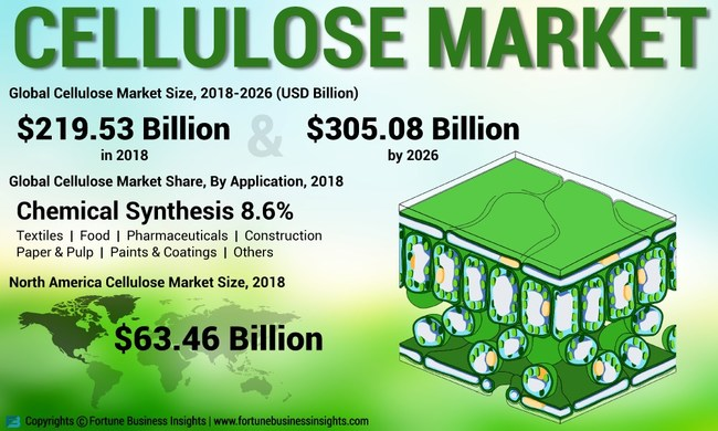 Cellulose Market Analysis, Insights and Forecast, 2015-2026