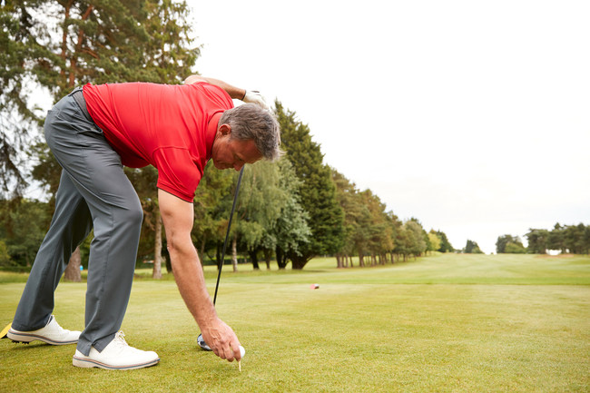 Playing golf you use all your muscles and your joints get a full workout