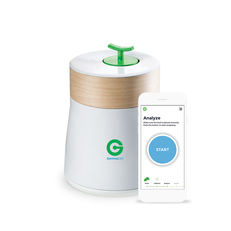 GemmaCert's patented technology, packed in a simple, sleek and smart solution, is setting the standard for cannabis quality and potency analysis, ensuring that products are consistent, safe, effective and predicable, improving the health and wellbeing of individuals and communities in over twenty countries.