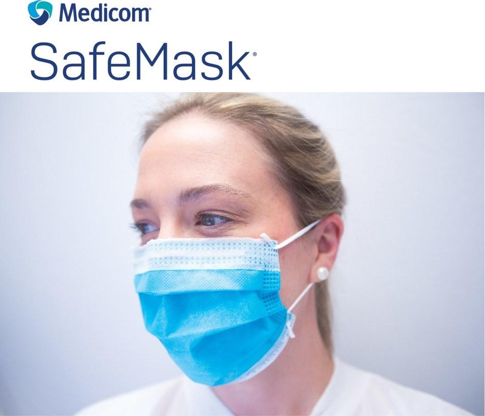 Le Groupe Medicom, dont le siège social est à Montréal, au Québec, est l'un des principaux fabricants et distributeurs mondiaux de produits de contrôle des infections de haute qualité, notamment des masques chirurgicaux, procéduraux et respiratoires. (Groupe CNW/AMD Medicom Inc.)