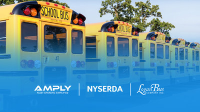 Two-year project will accelerate the use of electric school buses using AMPLY's fleet electrification service
