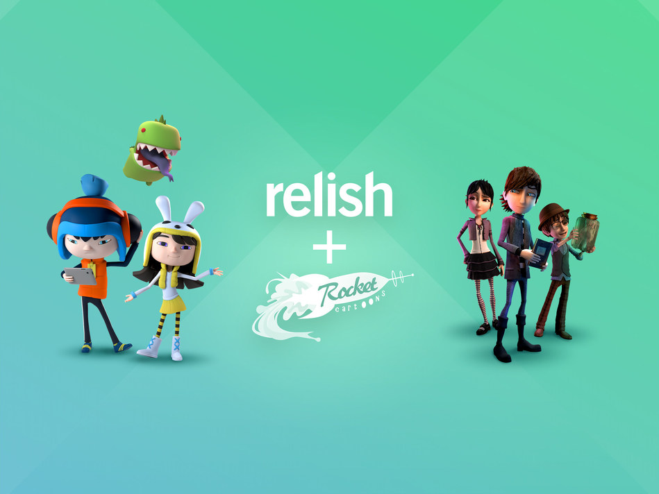 Award-winning Canadian content and gaming studio Relish Interactive announced it is acquiring Costa Rica-based Rocket Cartoons to level-up its in-house animation talent. (CNW Group/Relish Interactive Inc.)