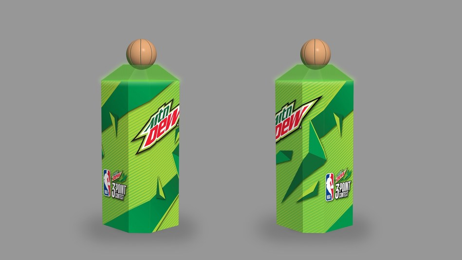 "MTN DEW® INTRODUCES ""MTN DEW® ZONE"" - THE FIRST SIGNIFICANT CHANGE TO THE NBA 3-POINT CONTEST SINCE 1986"
