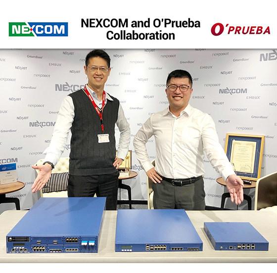 Left: Allan Chiu, Head of NCS ODM1 BU, NEXCOM International Right: Gavin Hsu, CEO, O'Prueba Technology Inc.