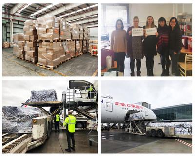 Comprar suministros en muchos países resultó ser una tarea difícil (PRNewsfoto/Proya)