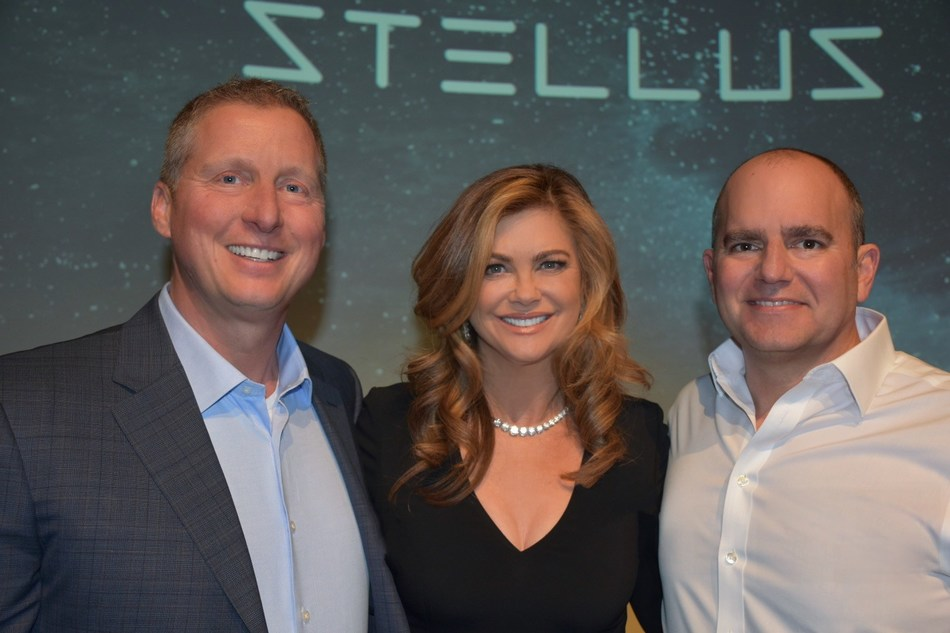 Stellus Technologies Launch Event: Ken Grohe (Stellus CRO), Kathy Ireland, Jeff Treuhaft (Stellus CEO)