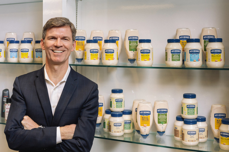 Gary Wade, President of Unilever Canada (CNW Group/Hellmann's)