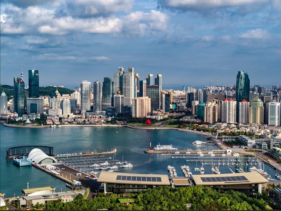 Qingdao Olympic Sailing Center (PRNewsfoto/Stadt Qingdao)