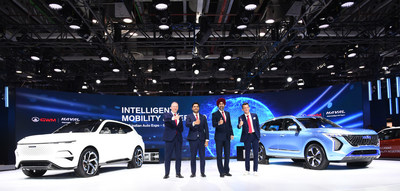 Great Wall Motor debuts at India's Auto Expo