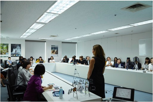 Advance Women at Work Japan: Workshop delivered at Credit Saison's Headquarters in Tokyo.