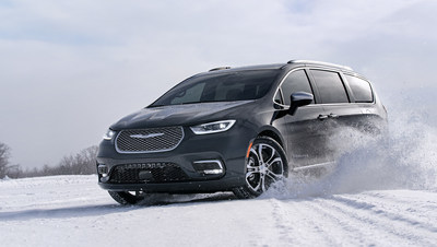 The Chrysler brand is taking the Windy City by storm at the 2020 Chicago Auto Show, introducing the new-for-2021 Chrysler Pacifica and setting a new standard in the class by delivering available all-wheel-drive (AWD) capability combined with class-exclusive Stow 'n Go seating and more standard safety features than any other vehicle in the industry, all wrapped in a refreshed exterior and interior design.