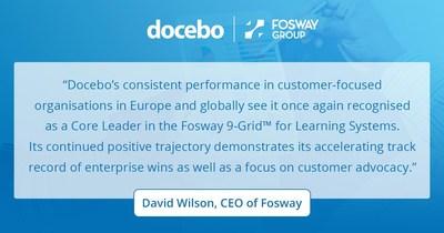 Fosway/Docebo Inc (CNW Group/Docebo Inc.)