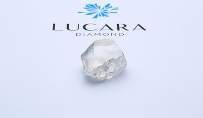 549 Carat White Gem Diamond from Lucara's Karowe Mine in Botswana (CNW Group/Lucara Diamond Corp.)