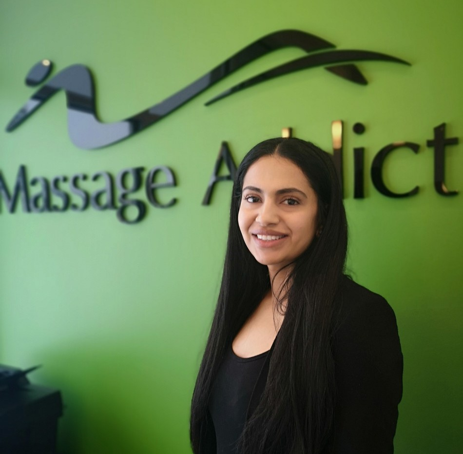 Mohsina Ahmed is the newest Franchisee with Massage Addict whose clinic opened in Kelowna, BC on Feb. 5th, 2020 (CNW Group/Massage Addict)