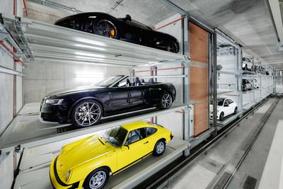 WÖHR Multiparker 740. The SCCA garage will use the WÖHR Multiparker 730.
