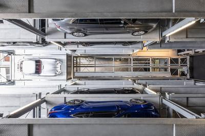 WÖHR Parksafe 583. The SCCA garage will use the WÖHR Multiparker 730.