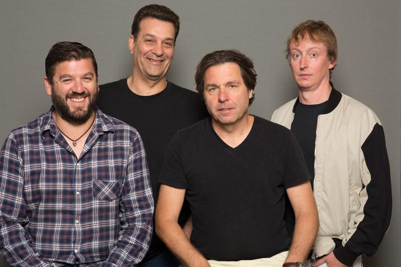 Paradigm UK's James Whitting, Dave Hallybone, Alex Hardee and Tom Schroeder
