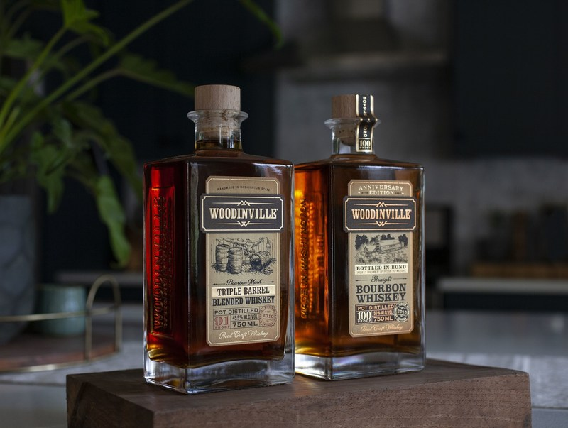 On February 9, Woodinville Whiskey Co-Founders Brett Carlile and Orlin Sorensen, will release two 10th Anniversary, distillery-only whiskeys: a limited edition Woodinville® Triple Barrel Blended Whiskey Finished in Ardbeg Islay Scotch Barrels ($69.95 per bottle) and its Woodinville® Bottled-in-Bond Straight Bourbon Whiskey ($59.95 per bottle).