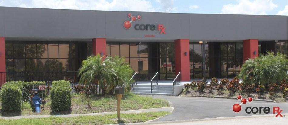 CoreRx manufacturing facilities