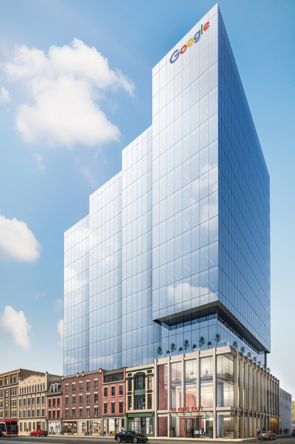 CARTTERA AND GOOGLE SIGN A 400,000 SF LONG-TERM OFFICE LEASE AT 65 KING EAST, TORONTO (CNW Group/Carttera Private Equities Inc.)