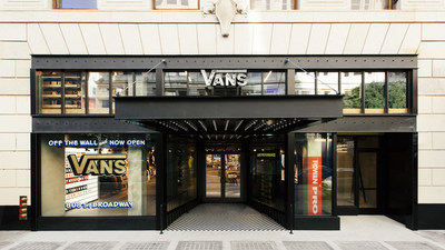 Vans opens its doors to the first ever retail and events store in Downtown Los Angeles.