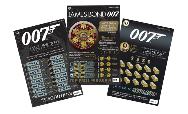 Scientific Games announced that a total of 22 U.S. and international lotteries are launching its new JAMES BOND 007 licensed games.