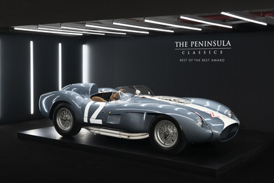 1958 Ferrari 335 S Spyder Wins 5th Annual The Peninsula Classics Best Of The Best Award