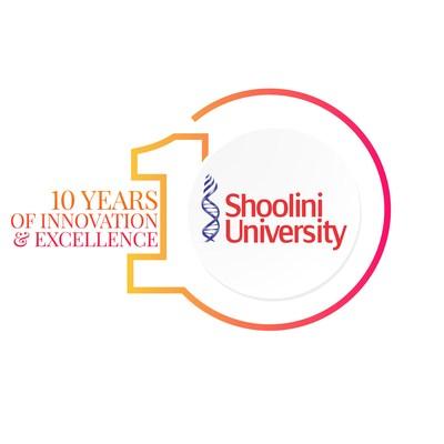 Shoolini 10 year Logo