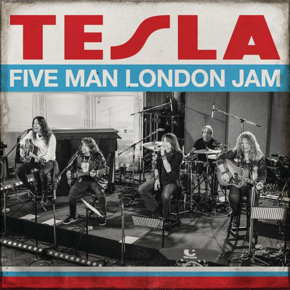 TESLA Announces New Album, 'Five Man London Jam,' For Global CD, Digital & Vinyl Release On March 27