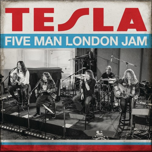 TESLA Announces New Album, 'Five Man London Jam,' For Global CD, Digital & Vinyl Release On March 27