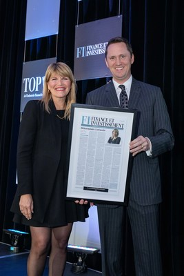 Sylvie Demers, Chair, Quebec Market, TD Bank Group, and Joe Glionna, president, Newcom Media Inc. (CNW Group/TD Bank Group)