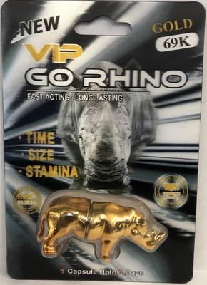 VIP GO Rhino Gold 69K (CNW Group/Health Canada)