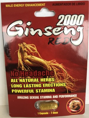 2000 Ginseng Red (CNW Group/Health Canada)