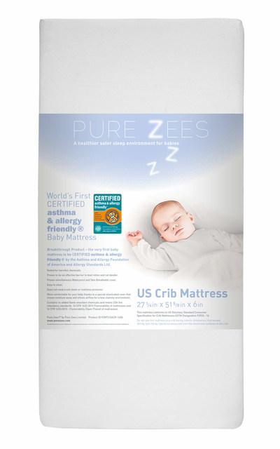 Pure Zees USA Crib Mattress