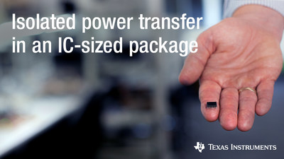 Engineers can shrink their power solution by as much as 80% and maximize efficiency in high-voltage industrial applications with a new high-density, isolated DC/DC bias power supply
