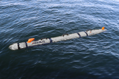 Hydroid's REMUS 300 Unmanned Underwater Vehicle (UUV)