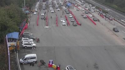 Drones de MMC en monitoreo de tráfico (PRNewsfoto/MicroMultiCopter Aero Technolog)
