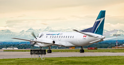 With the addition of Calgary-Dawson Creek service, WestJet Link will now operate five routes between Calgary and Cranbrook, Lethbridge, Lloydminster and Medicine Hat and one between Cranbrook and Vancouver. (CNW Group/WESTJET, an Alberta Partnership)