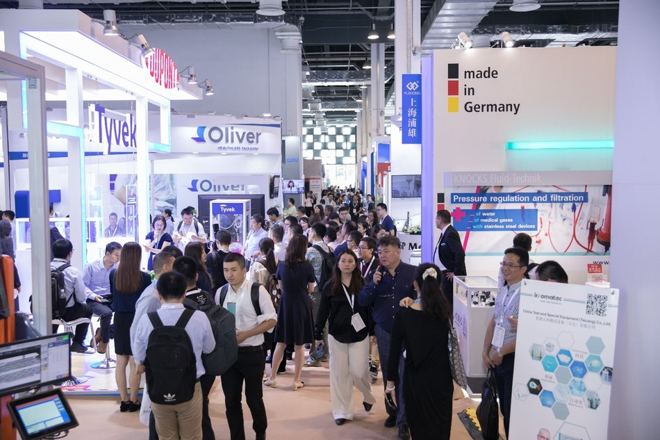 Medtec China 2019 was crowded with visitors