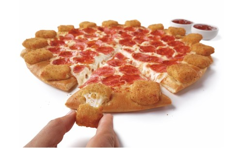 Pizza Hut is bringing pizza lovers its cheesiest creation yet, the Mozzarella Poppers Pizza. Featuring 16 crispy mozzarella stuffed squares baked to perfection right into the crust, this innovative 'za is available nationwide for a limited time only.