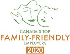 Canadian employers adapting quickly to new family realities: 'Canada's Top Family-Friendly Employers' for 2020 are announced