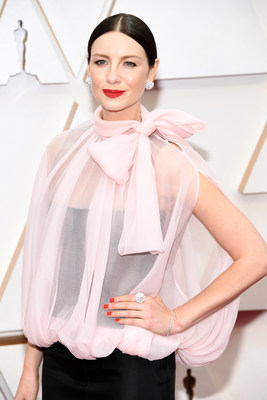 Actress Caitriona Balfe Graced the Red Carpet of the 92nd Academy Awards® Wearing NIWAKA Fine Jewelry